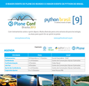 O maior evento de Plone do mundo e o maior evento de Python do Brasil